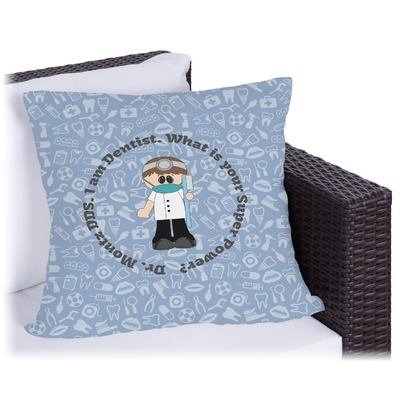 Dentist Outdoor Pillow (Personalized)