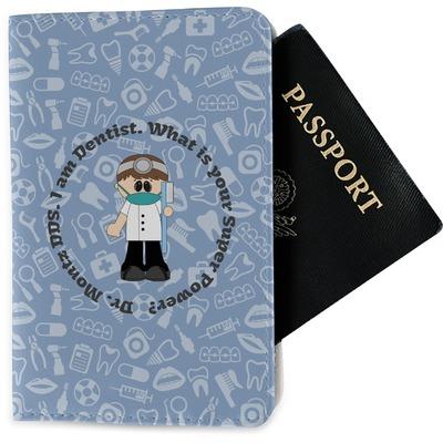 Dentist Passport Holder - Fabric (Personalized)