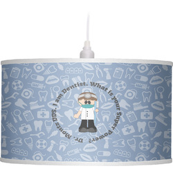 Dentist Drum Pendant Lamp (Personalized)