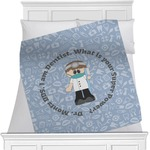 Dentist Minky Blanket (Personalized)