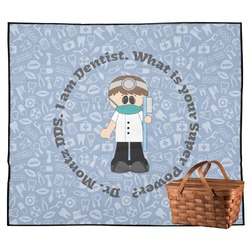 Dentist Outdoor Picnic Blanket (Personalized)