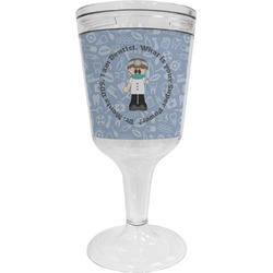 Dentist Wine Tumbler - 11 oz Plastic (Personalized)