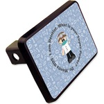 """Dentist Rectangular Trailer Hitch Cover - 2"""" (Personalized)"""