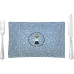 Dentist Glass Rectangular Lunch / Dinner Plate - Single or Set (Personalized)