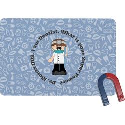 Dentist Rectangular Fridge Magnet (Personalized)