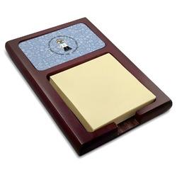 Dentist Red Mahogany Sticky Note Holder (Personalized)