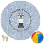 Dentist Round Beach Towel (Personalized)