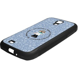 Dentist Rubber Samsung Galaxy 4 Phone Case (Personalized)