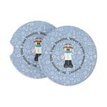 Dentist Sandstone Car Coasters (Personalized)