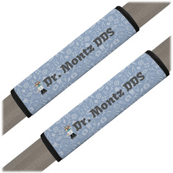 Dentist Seat Belt Covers (Set of 2) (Personalized)
