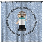 Dentist Shower Curtain (Personalized)