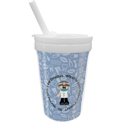 Dentist Sippy Cup with Straw (Personalized)
