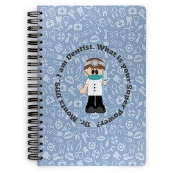 Dentist Spiral Bound Notebook (Personalized)