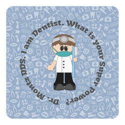 Dentist Square Decal (Personalized)