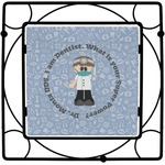 Dentist Square Trivet (Personalized)