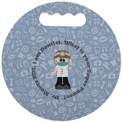 Dentist Stadium Cushion (Round) (Personalized)