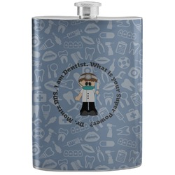 Dentist Stainless Steel Flask (Personalized)