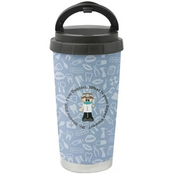 Dentist Stainless Steel Travel Mug (Personalized)