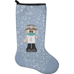 Dentist Christmas Stocking - Neoprene (Personalized)