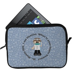 Dentist Tablet Case / Sleeve (Personalized)