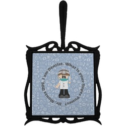 Dentist Trivet with Handle (Personalized)