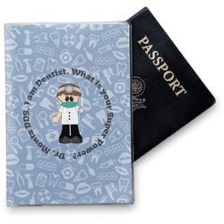 Dentist Vinyl Passport Holder (Personalized)