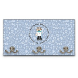 Dentist Wall Mounted Coat Rack (Personalized)