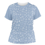 Dentist Women's Crew T-Shirt (Personalized)