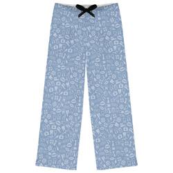 Dentist Womens Pajama Pants (Personalized)