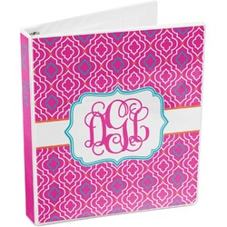 Colorful Trellis 3-Ring Binder (Personalized)