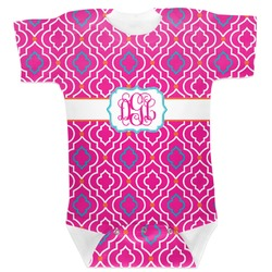 Colorful Trellis Baby Bodysuit (Personalized)