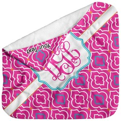 Colorful Trellis Baby Hooded Towel (Personalized)