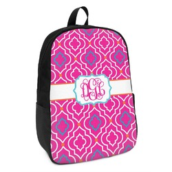 Colorful Trellis Kids Backpack (Personalized)