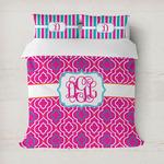 Colorful Trellis Duvet Covers (Personalized)