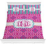 Colorful Trellis Comforter Set (Personalized)