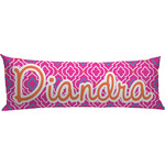 Colorful Trellis Body Pillow Case (Personalized)