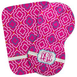 Colorful Trellis Burp Cloth (Personalized)