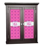 Colorful Trellis Cabinet Decal - Custom Size (Personalized)