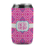 Colorful Trellis Can Sleeve (12 oz) (Personalized)