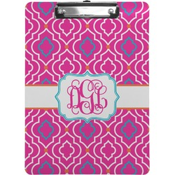 Colorful Trellis Clipboard (Personalized)