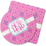 Colorful Trellis Rubber Backed Coaster (Personalized)