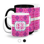 Colorful Trellis Coffee Mugs (Personalized)