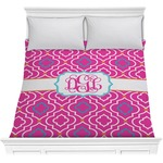 Colorful Trellis Comforter (Personalized)