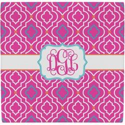 Colorful Trellis Ceramic Tile Hot Pad (Personalized)