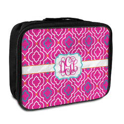 Colorful Trellis Insulated Lunch Bag (Personalized)