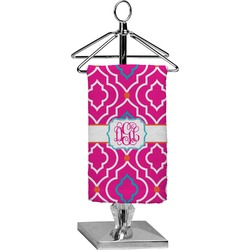 Colorful Trellis Finger Tip Towel - Full Print (Personalized)