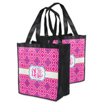 Colorful Trellis Grocery Bag (Personalized)
