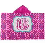 Colorful Trellis Kids Hooded Towel (Personalized)