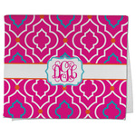 Colorful Trellis Kitchen Towel - Full Print (Personalized)