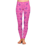 Colorful Trellis Ladies Leggings (Personalized)